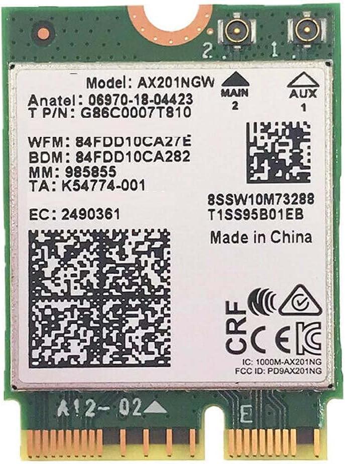 Max 49% OFF langchen WiFi 6 AX201NGW Wireless 8 Dual Band Fashion 3000Mbps CNVI