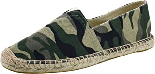YOUJIA Hommes Classique Espadrilles Camouflage Respirant Plat Moccasins