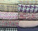 Tweed Bastelset, Pink und Violett