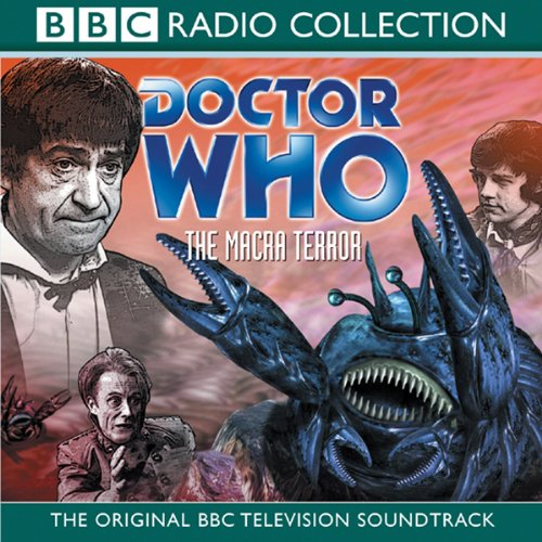 Doctor Who: The Macra Terror audiobook cover art