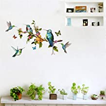 WOCACHI Wall Stickers Decals Mobile Creative Wall Affixed with Decorative Wall Window Decoration Art Mural Wallpaper Peel & Stick Removable Room Decoration Nursery Decor
