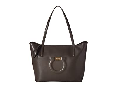 Salvatore Ferragamo City Tote (Flannel) Handbags