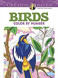 birds color by number
