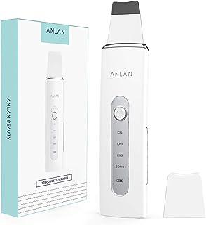 ANLAN Facial Skin Scrubber Face Spatula Cleaner Ultrasonic Skin Scrubber 4 In 1 Blackhead Acne Pimple Blemish Dead Skin Re...