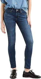 Calça Jeans Levis 711 Skinny Feminino Azul Escura
