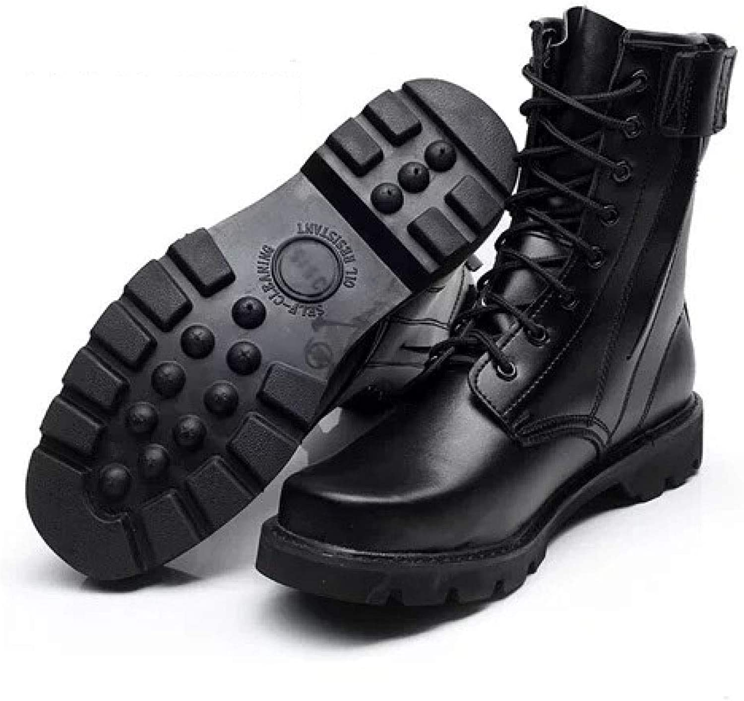 Hiking Boots Men's Special Forces Combat Boots High To Help Security shoes Martin Outdoor Military shoes Men's shoes