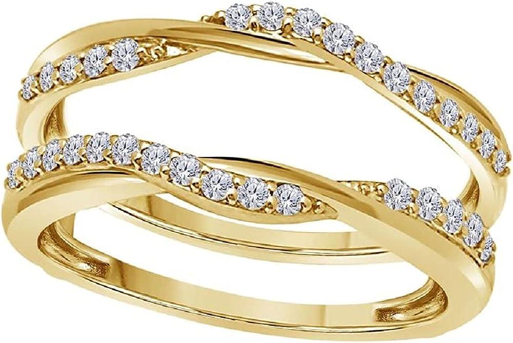 0.50 Ct Simulated Diamond Safety and Popular brand trust Ring Ladies Enhancer Anniversary Weddi