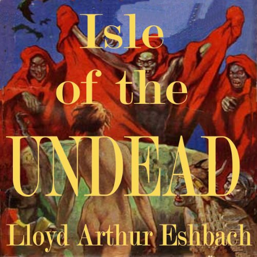 Isle of the Undead audiobook cover art