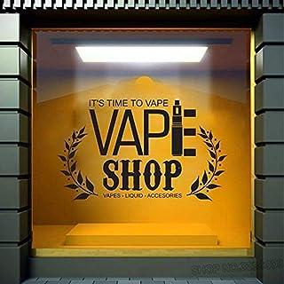 Comprar adhesivo de pared Comprar logotipo Calcomanía de pared de vidrio Vinilo Extraíble Obra 42x66cm