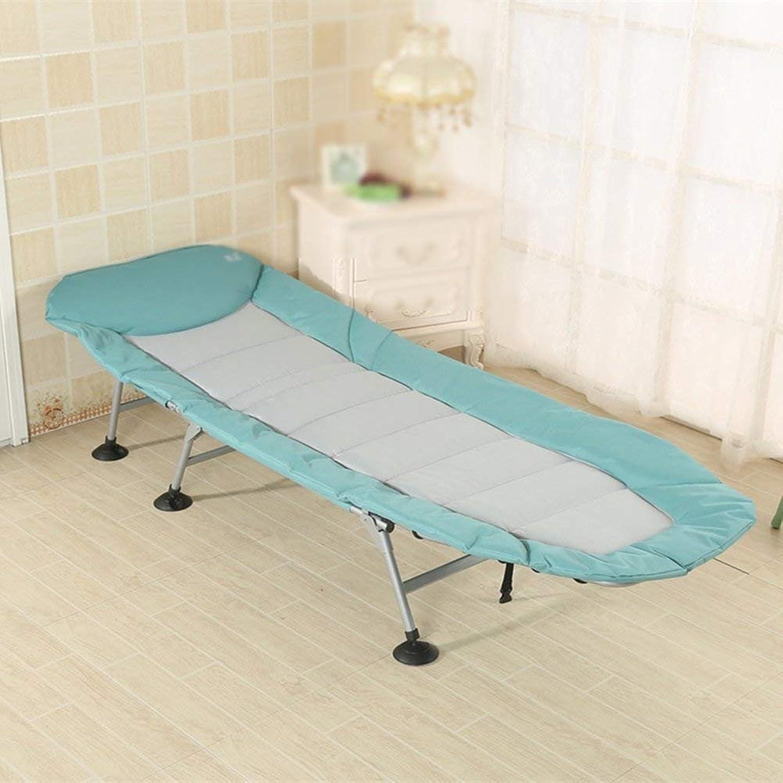 WJJH Sonnenliege LiegestuhlRelaxsessel & -Liegen Falten-Aufenthaltsraum-Stuhl-einzelnes Bett-Büro-faltendes Bett-Mittagspause, die auf Dem Bett-Verstrkungs-Einfachen Speicher Style-4