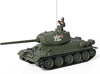 Forces of Valor T34/85 Russian-Eastern Europe Diecast Vehicle (1944), Scale 1:72