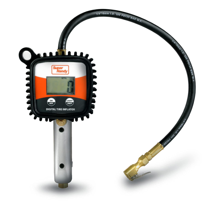 SuperHandy Tire Inflator Digital Pressure Gauge Direct sale of Oakland Mall manufacturer AC107 Chuck Air