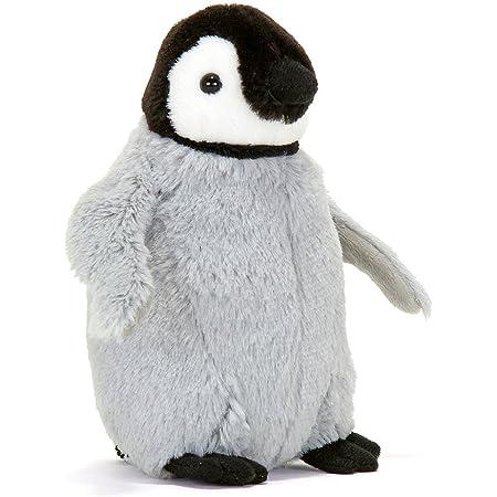 カロラータ エンペラーペンギン ヒナ ぬいぐるみ 動物 (リアルペンギンファミリー) 11.5cm×17.5cm×10.5cm