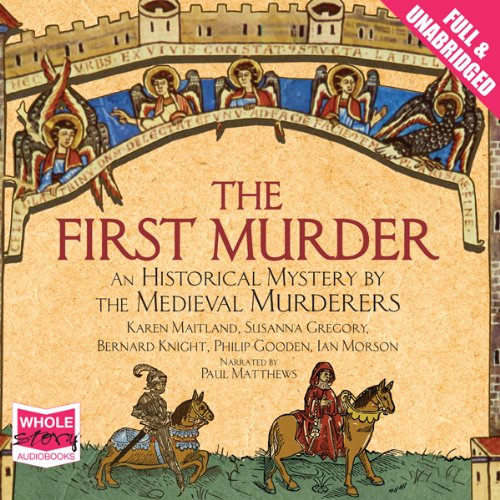 The First Murder audiobook cover art