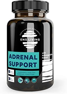 Adrenal Support Cortisol Manager & Anxiety Supplements for Natural Energy, Focus, Brain Fog, Adrenal Fatigue and Memory │ ...