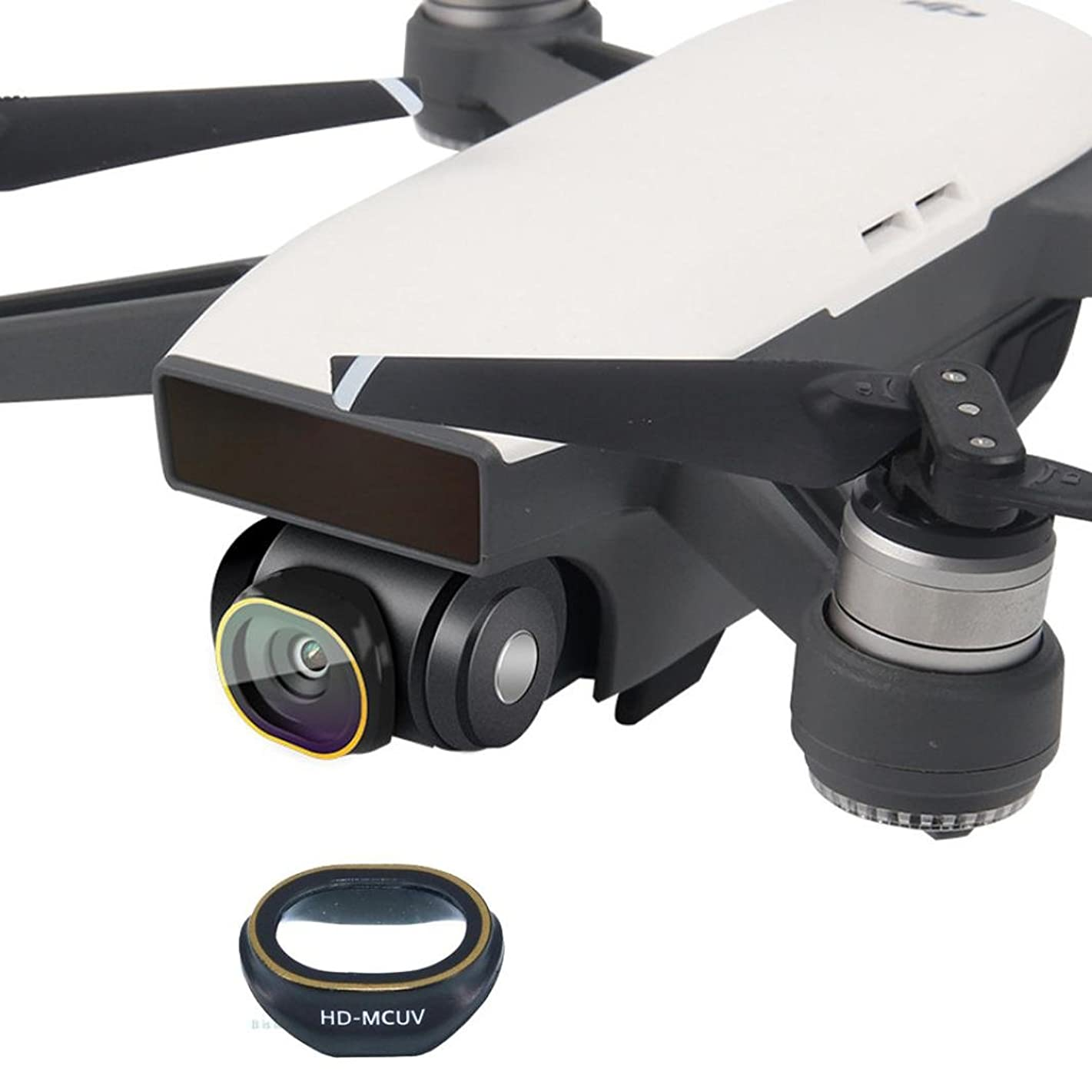Quartly Gimbal Camera HD Lens Filter For DJI SPARK Drone MCUV/CPL/ND4/ND8/ND16/ND32