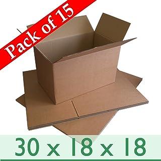 """50 Fuerte Doble Pared de cajas de cartón 30/""""x20/""""x20/"""" Correo Embalaje Postal eliminación"""