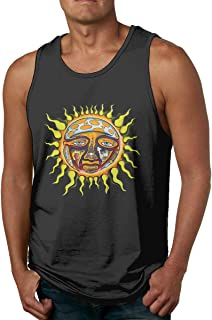 The Story of Sublimes Iconic Sun Logo Men's Tank Top Muscle Shirt Tank Top Shirt