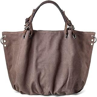 Women Crossbody Bag, Canvas Hobo Bag, Vintage Messenger Bag Shoulder Satchel