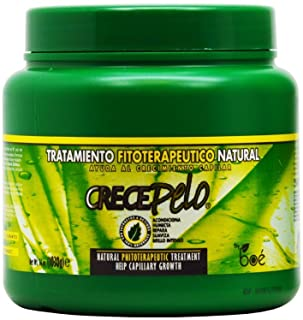 Crece Pelo Tratamiento Fitoterapetico Natural (Natural Phitoterapeutic Treatment) 36oz