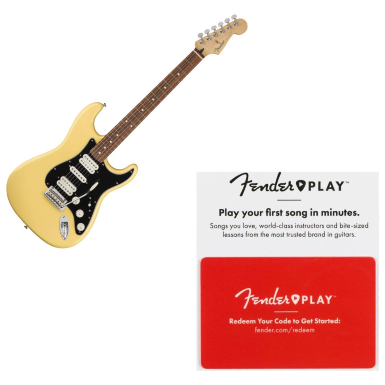 Cheap Fender Player Stratocaster HSH Pau Ferro Buttercream Electric Guitar w/Prepaid Black Friday & Cyber Monday 2019