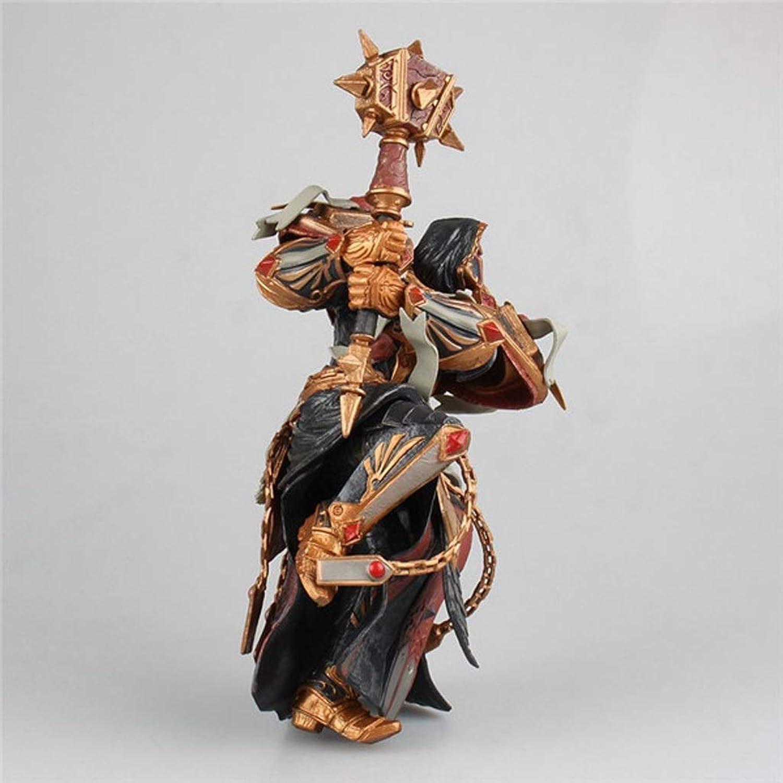saludable HNBY Martillo Anaranjado Anaranjado Anaranjado Juguete De Juguete Estatua World of Warcraft Modelo De Juguete Juego Personaje Recuerdo   18 Cm Decoración Recuerdo Estatua  venta al por mayor barato
