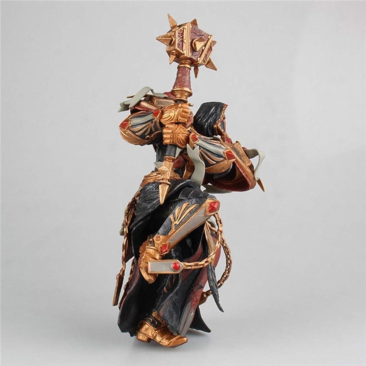 固めるトレース刑務所World of Warcraftのおもちゃオレンジハンマー像モデルゲームキャラクターお土産/ 18センチ装飾お土産 Hxtsaber