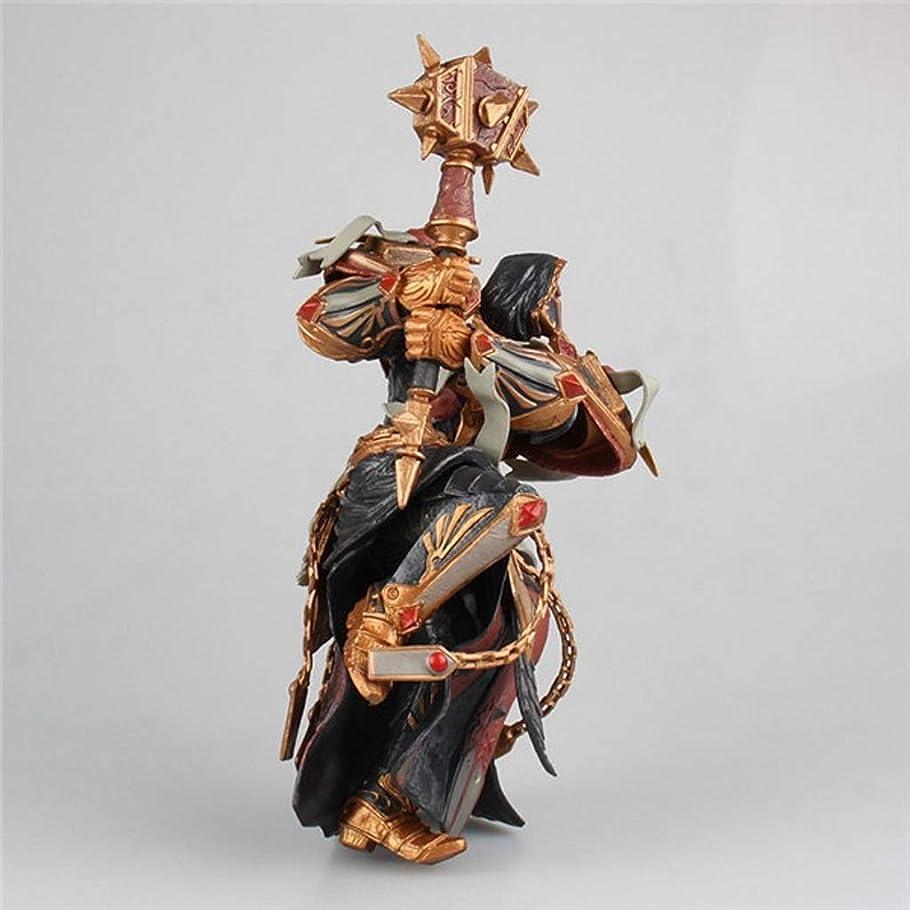 キリスト教環境かみそりWorld of Warcraftのおもちゃオレンジハンマー像モデルゲームキャラクターお土産/ 18センチ装飾お土産 Hxtsaber