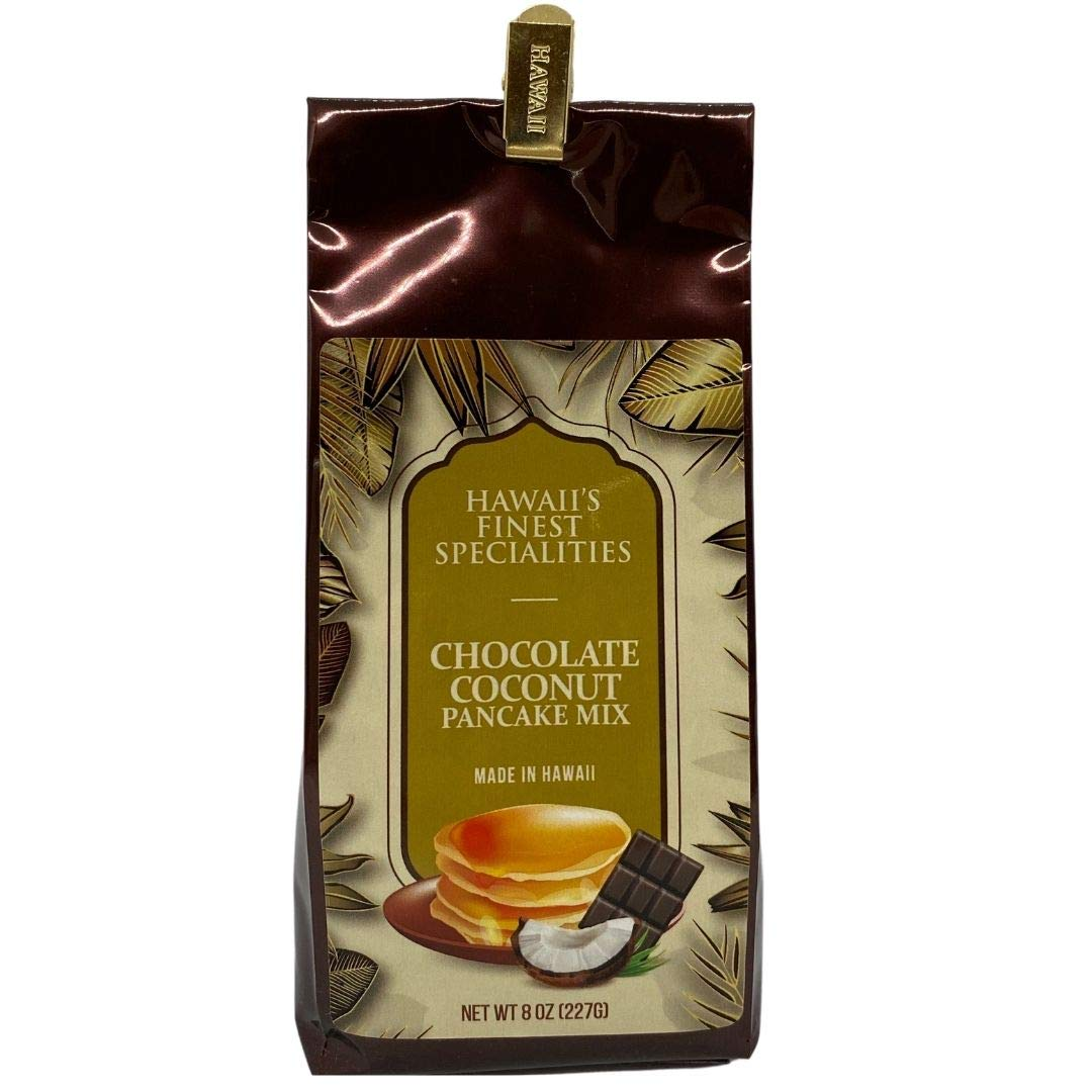 Hawaii's Miami Mall New York Mall Finest Specialties Chocolate Mix Coconut Pancake