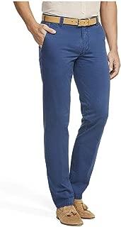 MEYER Dubai Stretch Denim Jeans-Lavato Blu