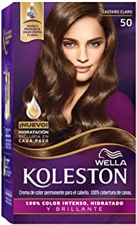 Wella Koleston Coloracion Permanente en Crema, 50 Castaño Claro