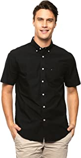 Men's Regular Short Sleeve Button Down Shirt in Classic Fit