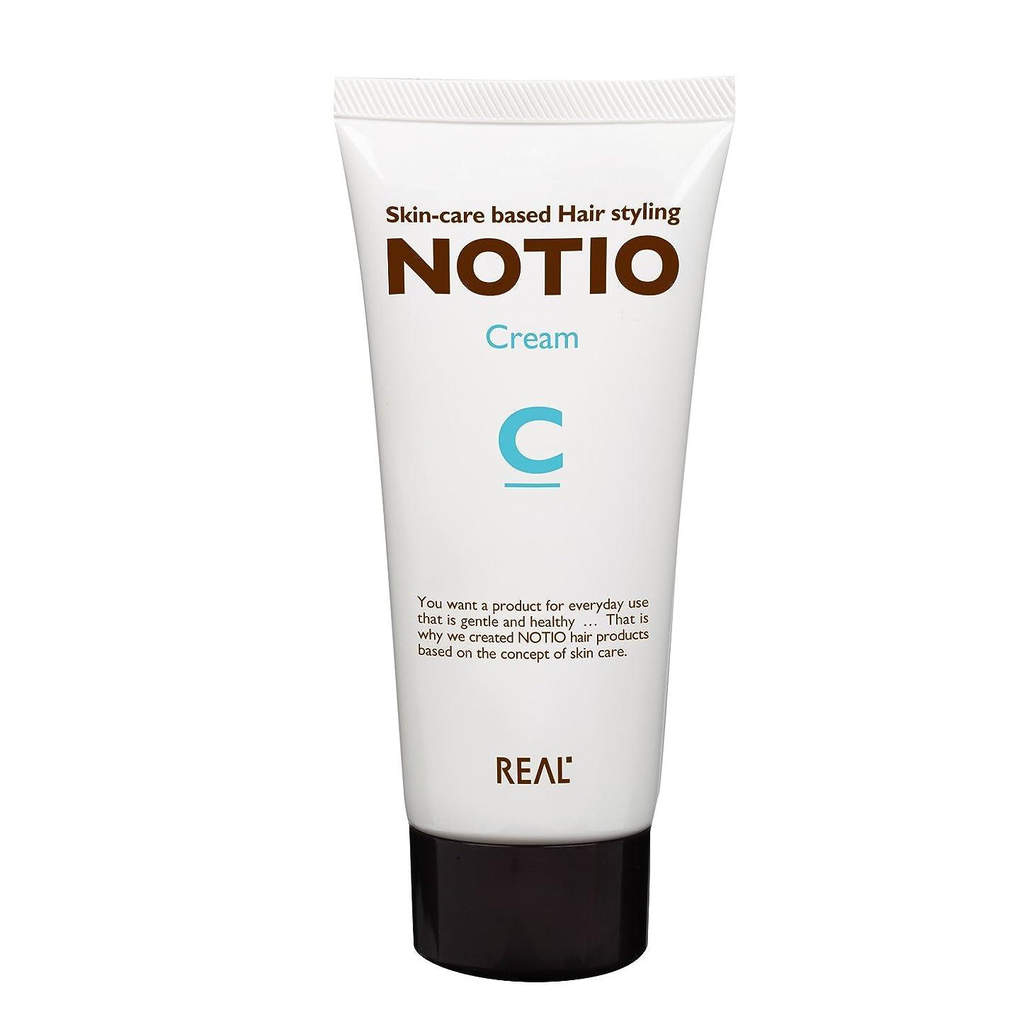 頑張る繁雑メモリアル化学 ノティオ (NOTIO) クリーム 90g