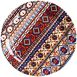 MYPNB Tazón Europeo Plato Placa de cerámica del hogar del Hotel Bandeja Cubiertos Europea vajilla de Cocina Occidental Restaurante Occidental Placa Plato Italiano Pizza Placa Plato