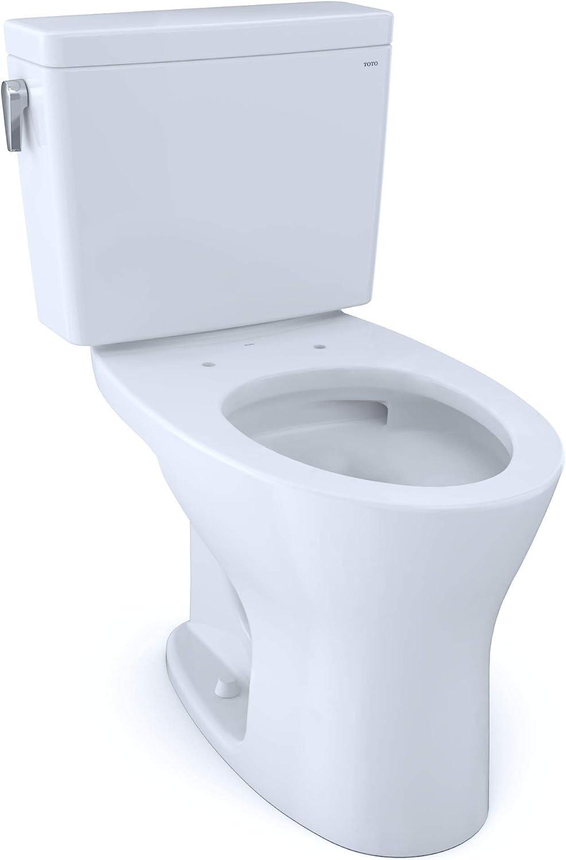 TOTO CST746CSMFG.10#01 Drake Two-Piece Elongated Dual Flush