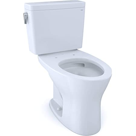 Universal Height Dynamax Tornado Flush Toilet With Cefiontect