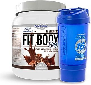 Batido sustitutivo de comida + Vaso mezclador de batido adelgazante. Pack 2 en 1 sustitutivos de comida con proteínas (Chocolate - Bombon)