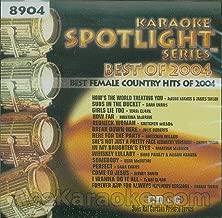 Karaoke Music CDG: Sound Choice Spotlight CDG SCG8904 - Best Female Country Hits Of 2004