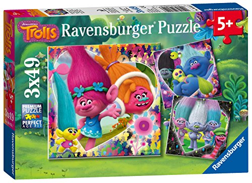 Ravensburger Trol, 3 x 49pc puzzel