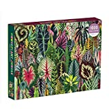 Galison Houseplant Jungle 1000 Piece Jigsaw Puzzle for Adults – Plant Jigsaw Puzzle with Mix of Succulents & Other Household Plants – Fun Indoor Activity, Multicolor