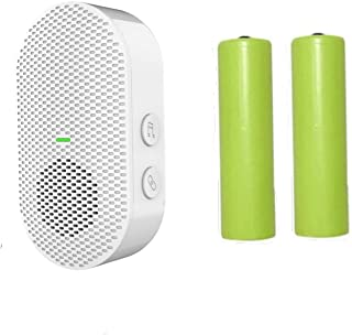 Two 18650 Rechargeable Batteries and A White Chime