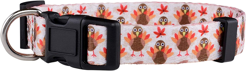 Rapid rise Native Pup Thanksgiving Dog Collar Fall Turkey Ho Cute Autumn Cheap bargain