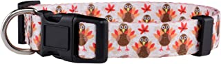 Native Pup Thanksgiving Dog Collar | Cute Fall, Autumn, Turkey Design|