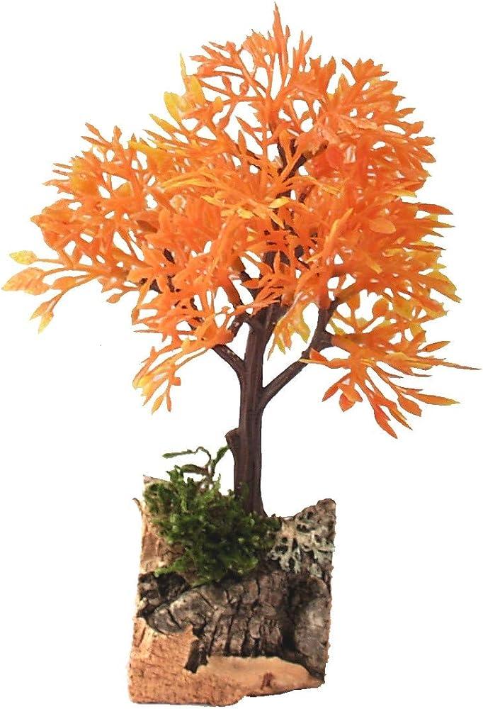 Ferrari & arrighetti albero arancione da 14 cm ,soggetto del presepe B57712