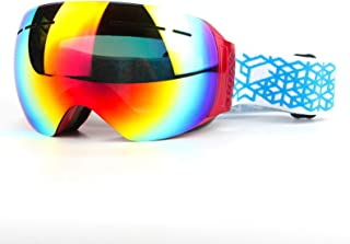 Border Less Ski Glasses Double Anti Fog Ski Goggles Large Spherical Cocaine Myopia Windproof Goggles