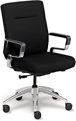 Amazon Com Cameron Terra Cotta Faux Leather Highback Desk