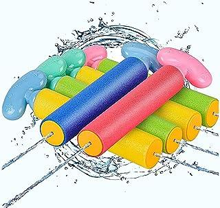 Beauenty Water Gun for Kids, Foam Water Blaster Squirt Guns, 6-Pack Kids Outdoor Water Pool Toys ,Multicolor (c1)