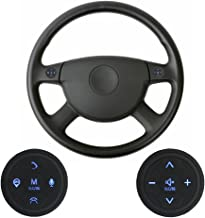 XISEDO Steering Wheel Control Buttons 10 Keys Car Steering Wheel Controller Wireless Remote Control Universal for Car Stereo, GPS Navigator, DVD Player