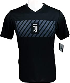 Icon Sports Men Juventus F.C. Official Adult Soccer Poly Shirt Jersey -03