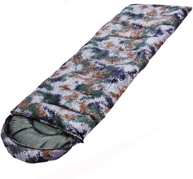 Camouflage-Schlafsack Camouflage-Schlafsack Camouflage-Schlafsack wasserdicht im Freien Camping Hotel über den schmutzigen 1.3KG Anti-Kick ist 220  75cm B07JB9G5P2  Zart f4bdc9
